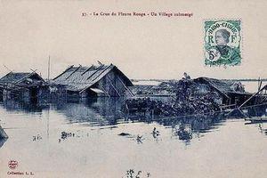 Những câu chuyện thú vị về con đê bảo vệ kinh thành Thăng Long thoát nạn đại hồng thủy