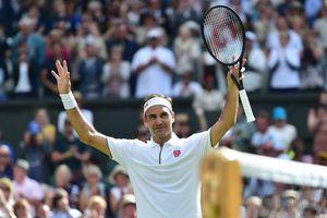 Roger Federer cán mốc 350 trận thắng tại các giải Grand Slam