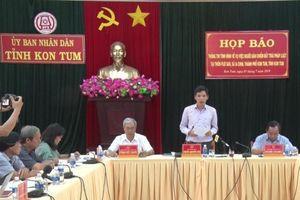 Bắt tạm giam một số đối tượng xúi giục người dân chiếm đất trái pháp luật tại Kon Tum
