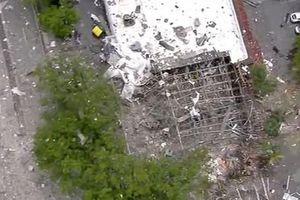 Mỹ: Hình ảnh sau vụ nổ lớn tại khu mua sắm ở Nam Florida