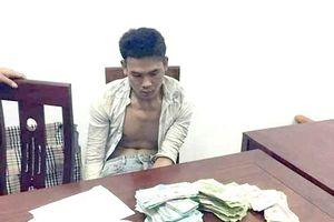 Nghệ An: Bắt đối tượng phá két sắt trộm gần nửa tỷ đồng
