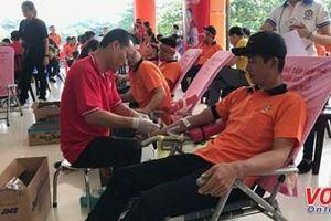 Hành trình Đỏ 2019 tại TP.Hồ Chí Minh tiếp nhận gần 1.600 đơn vị máu