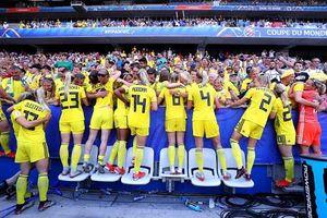 Đánh bại ĐT Anh, Thụy Điển giành hạng ba World Cup nữ 2019