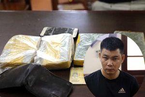 Đối tượng vận chuyển 4 bánh heroin từ Hà Nội lên Lạng Sơn bị bắt giữ