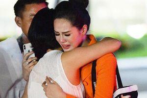 Bạn gái Trọng Đại khóc nức nở khi bị loại ở Hoa hậu Thế giới Việt Nam