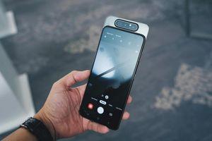 Galaxy A80 lên kệ tại VN - camera trượt xoay, giá 15 triệu đồng