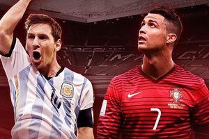 Argentina lên kế hoạch để Messi so tài với Ronaldo