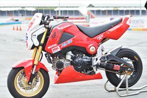 Chi tiết Honda MSX phiên bản đường đua