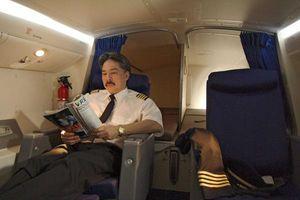 Ghé thăm căn phòng tí hon của các tiếp viên hàng không trên máy bay