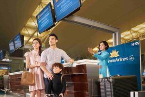 Vietnam Airlines chuyển chính sách hành lý hệ cân sang hệ kiện