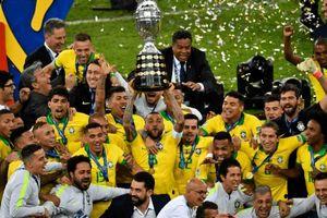 Brazil lên ngôi vô địch sau 30 năm chờ đợi