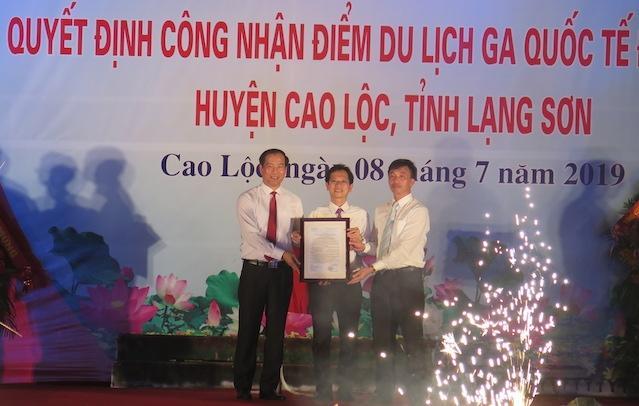 Lạng Sơn công nhận điểm du lịch Ga quốc tế Đồng Đăng
