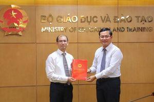 Bộ GD&ĐT bổ nhiệm Phó Cục trưởng Cục Hợp tác Quốc tế