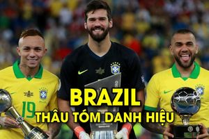 Brazil thâu tóm danh hiệu cá nhân của Copa America 2019