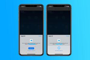 Apple thử nghiệm đăng nhập trang chủ iCloud bằng Face ID và vân tay