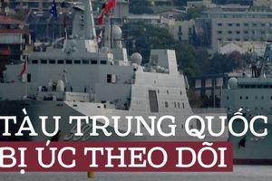 Úc lo theo dõi tàu giám sát Trung Quốc trước thềm tập trận với Mỹ