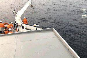 Điều động robot tìm kiếm thuyền viên mất tích