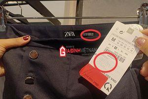 Bài 1: Hãng thời trang Zara nhập nhèm thương hiệu, mất lòng tin khách hàng