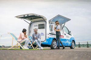 Nissan giới thiệu xe van kem chạy điện ở Anh