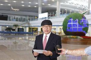 Con trai cựu Ngoại trưởng Hàn Quốc sang Triều Tiên sinh sống