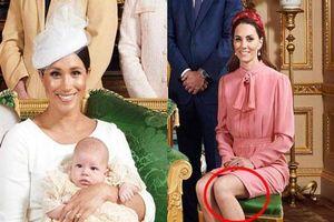 Công nương Kate bị chỉ trích vì chi tiết 'kém sang' trong lễ rửa tội của bé Archie trong khi Meghan Markle lên kế hoạch 'tuyển bạn thân' cho con trai