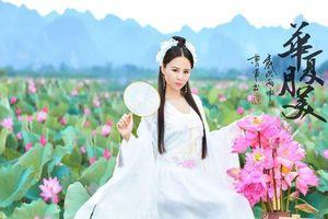 Nữ sinh đẹp tựa 'thần tiên tỷ tỷ' bên quốc hoa