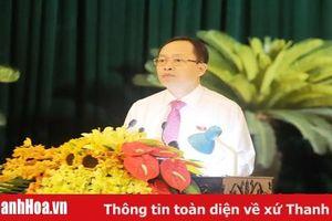 Phát biểu khai mạc kỳ họp thứ 9, HĐND tỉnh khóa XVII của đồng chí Trịnh Văn Chiến, Ủy viên Trung ương Đảng, Bí thư Tỉnh ủy, Chủ tịch HĐND tỉnh