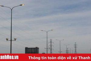 TP Thanh Hóa: Hàng chục bóng đèn cao áp thắp sáng giữa ban ngày