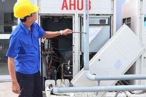 Dùng nước nóng thay thế điện trở xử lý không khí trong môi trường sản xuất