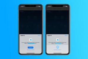 Apple đang thử đăng nhập iCloud bằng TouchID hoặc FaceID