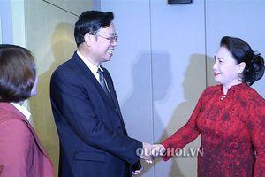 Chủ tịch Quốc hội Nguyễn Thị Kim Ngân tiếp lãnh đạo Tập đoàn Thiên doanh