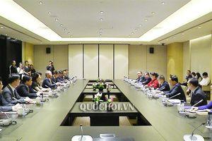 Chủ tịch Quốc hội Nguyễn Thị Kim Ngân tiếp lãnh đạo Tập đoàn Xây dựng Thái Bình dương