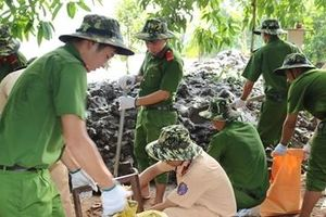 Đoàn thanh niên Công an Trà Vinh ra quân chiến dịch tình nguyện hè