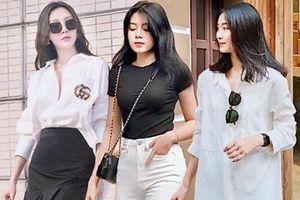 Chưa biết mặc gì ngày nắng, cứ mix đồ đen trắng vừa đẹp vừa sang như quý cô thời trang Việt là ổn