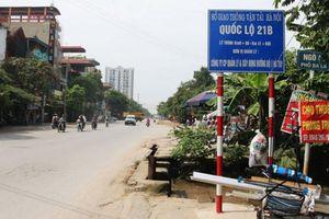 Phê duyệt chỉ giới đường đỏ tỉnh lộ 428 đoạn qua huyện Ứng Hòa