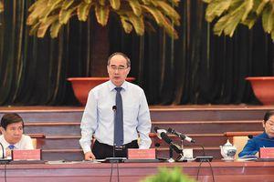 Bí thư Thành ủy TPHCM Nguyễn Thiện Nhân: Không được chậm trễ trong giải quyết vấn đề Thủ Thiêm