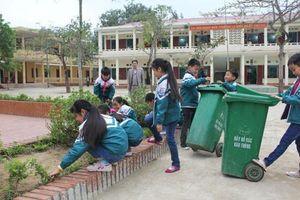 Nâng cao ý thức bảo vệ cảnh quan môi trường trường học