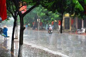 Chiều nay (9/7), Hà Nội đón mưa vàng giải nhiệt sau nhiều ngày nắng nóng