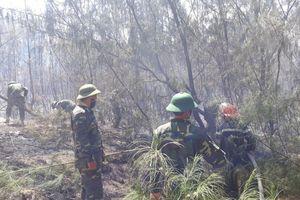 Liên tiếp xảy ra cháy rừng phòng hộ tại Phú Yên