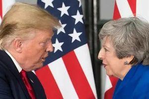 Ông Trump lại mỉa Thủ tướng Anh sau vụ lộ điện tín 'nói xấu'