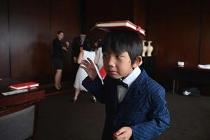 Cận cảnh lớp học để trở thành 'giới thượng lưu' ở Thượng Hải