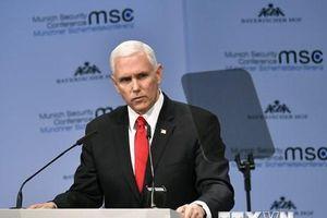 Phó Tổng thống Mike Pence: Mỹ không muốn chiến tranh với Iran