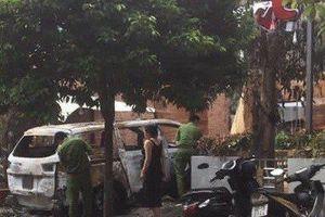 Điều tra nghi án ném bom xăng, một quán cà phê sắp khai trương bị cháy rụi