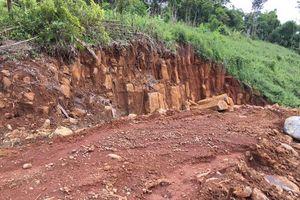 Đắk Nông: Điều tra, xử lý vụ khai thác đá trái phép trong khu vực quân sự