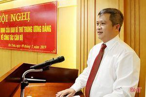 Chân dung tân Phó Bí thư Tỉnh ủy Hà Tĩnh Trần Tiến Hưng
