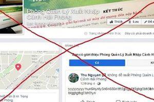 Cảnh báo trang facebook giả nhận làm dịch vụ hộ chiếu