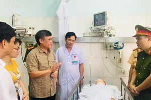 Hải Phòng: PCT Nguyễn Xuân Bình thăm hỏi chiến sĩ bị tai nạn