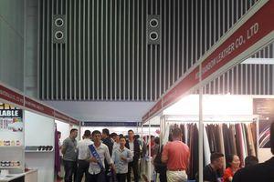 Gần 700 nhà sản xuất, cung ứng tham gia Triển lãm Quốc tế Da Giày lần thứ 21