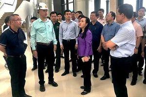 Bộ trưởng Y tế đốc thúc tiến độ 2 bệnh viện trọng điểm ở Hà Nam