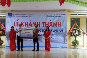 PVN và PV GAS bàn giao trường THCS Chu Văn An tại huyện Ia Grai, Gia Lai
